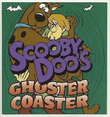 1998 SCOOBY-DOO'S Ghoster Coaster: Opens For A Picture Holder Unused New +BONUS!