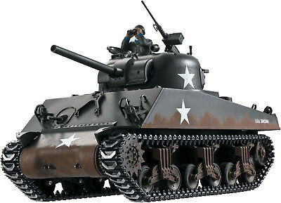 Taigen M4A3 Sherman 75mm (Metal Edition) RC Tank 1/16th Scale. Airsoft IMEX