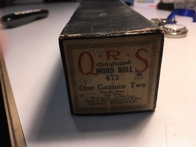 Q.R.S.  Piano ( Word)  Roll One Gozinto Two