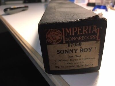 Imperial Piano Roll Sonny Boy