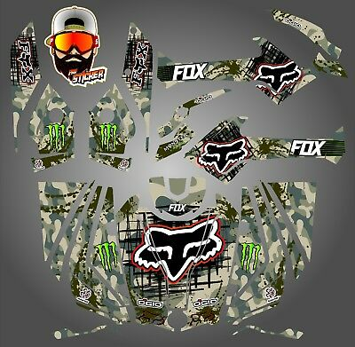 Can-Am Outlander 800 1000 R Xt 12-16 Graphics Kit Decals Stickers