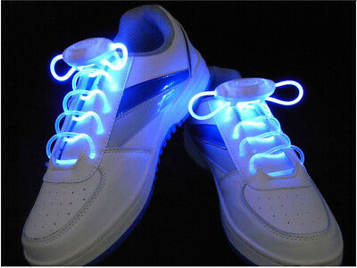NEW - Light Up Shoelaces - LED and battery included Great FUN