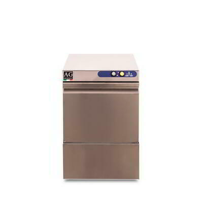 Italian Made Commercial Under Bench Glasswasher - Dishwasher - Stainless Steel