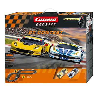Carrera GO!!! GT Contest Slot Car Set