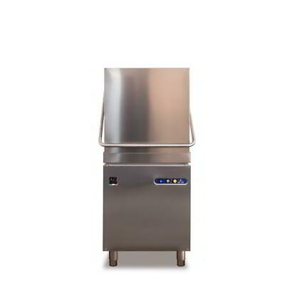 Italian Made Commercial Upright Bench Dishwasher - Stainless Steel