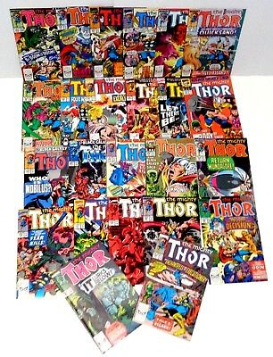 THOR high grade COMIC LOT - FREE S&H - see more MARVEL & DC comic lots! (cl017)