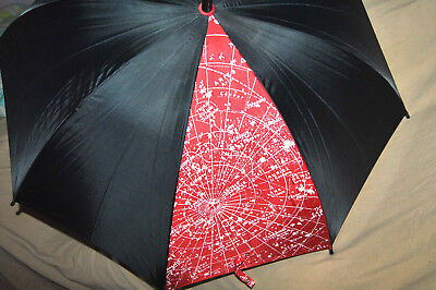 "Rare Aramis ""navigators"" Umbrella Black Red Original Package Tag Unused"