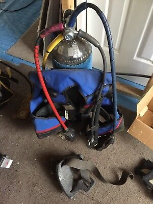 Scuba Tank, BCD, Weight Belt And Booties