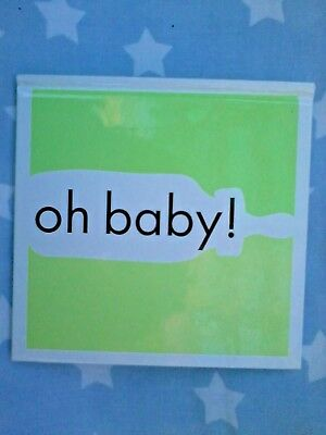 OH BABY - Gorgeous hardcover gift book for new baby / shower - lovely quotes