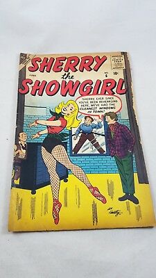 Sherry The Showgirl #6 1957 Stan Lee Story Atlas Comic 10 cent 50s romance