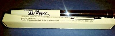 Very Rare Dr Pepper King Of Beverage Pen With Dr Pepper On End Of Pen