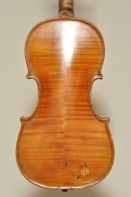 Nice Antique Vintage Old Used Violin Labeled Contavalli Primo Imola1931 4/4 size