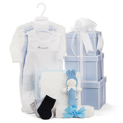 NEW Boz Luxe Boutique Baby Hamper Blue