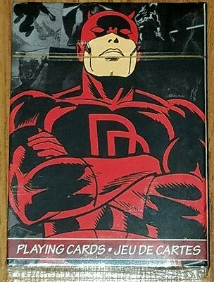 Marvel Comics Daredevil Playing Cards 52 Card Deck New Sealed
