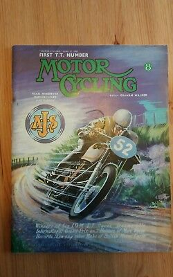 1952. The First TT Number. Motor Cycling 12th June 1952