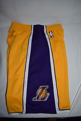 Adidas LA Lakers basketball shorts Youth size 14 new condition