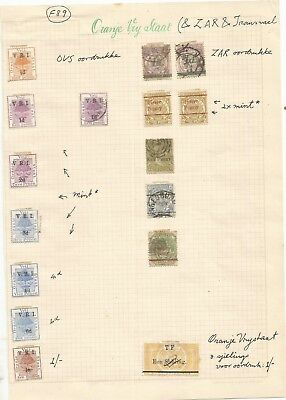 South Africa , Pre Union  , On Pages# , Natal , Transvaal , Cape , Free State