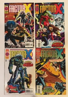 3 Age of Apocalypse COMIC SETS (Factor X, Gambit and the Externals, Gen. Next)