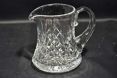 Royal Brierley Gainsborough Pattern Lead Crystal Cut Glass 3/4 Pint Jug 2Nds