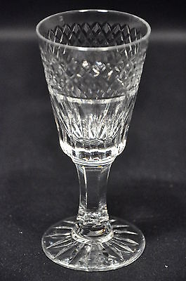 Royal Brierley Lead Crystal Stratford Pattern Sherry Glass Signed