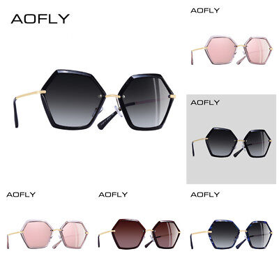 caaf882e1c Brand Design Unique Hexagon Frame Sunglasses Women Fashion Ladies Sale Usa  New