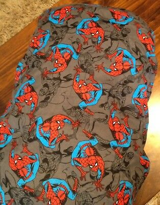 Brand New Hand Made Flannelette Spiderman Change Table Cover, Mat Nappy