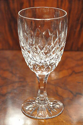 Royal Brierley Gainsborough Pattern Lead Crystal Cut Glass Goblet 2Nds