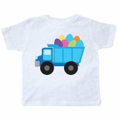 Inktastic Easter Egg Truck Boys Toddler T-Shirt Holiday Colored Childs Kids Gift