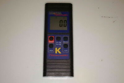 Regin digital thermometer 2 inputs K type