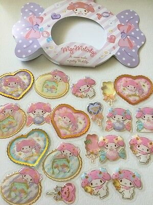 Planner Journal Stickers My Melody Sanrio Craft Scrapbooking Envelope Seal Gloss