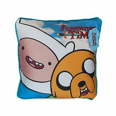 Adventure Time Finn and Jake the Dog Cushion 40x40cm - Ace!