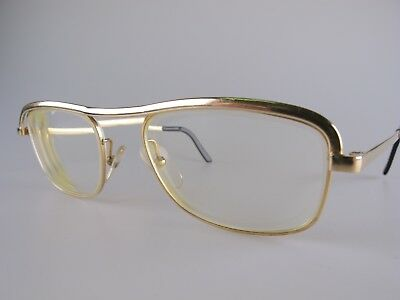 Vintage Essel Gold Filled Eyeglasses Frames Size 51-23 Medium Made in France
