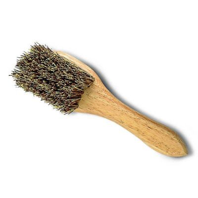 Cottage Craft Mud Brush with Handle, stiff bristled brush for removing thick mud