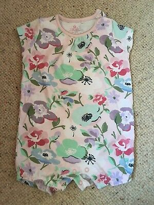 Next Baby Girl Floral Romper 6-9 Months