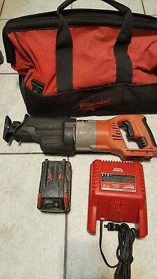 Milwaukee 0719-20 M28 Cordless 28V Lithium-Ion Reciprocating Saw w/ battery