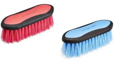Cottage Craft Dandy Brush - Blue or Pink grooming brush (rrp £5.25)
