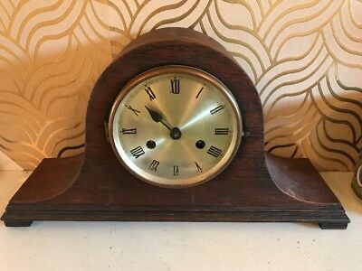 Haller Ag Art Deco Clock For Spares/ Repairs