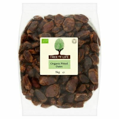 Tree of Life Organic Pitted Dates 1kg