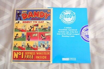 The Dandy Mini Facsimle Of The First Issue