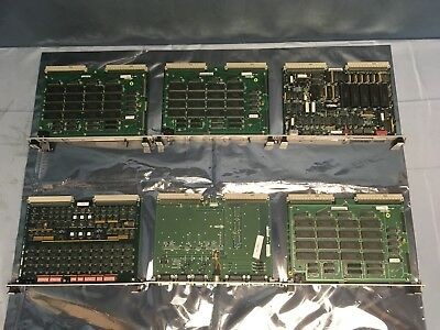 6 Various Moore 15921-23, 15987-61-1, 15921-23-2, 15923-51-3, MM-6260 VME Card