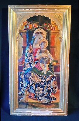 Italian Holy Saint Christ Renaissance Old Master Large Antique Oil Painting Icon