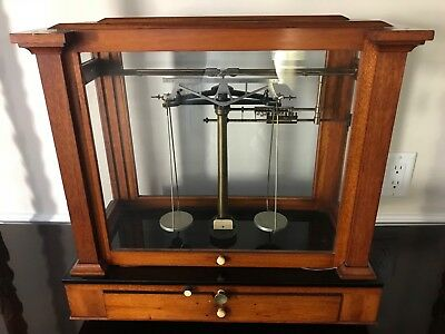 Antique Jewelers Scale WM Ainsworth with weights