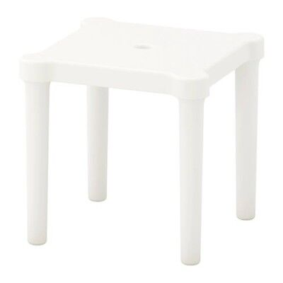 IKEA UTTER Childrens Table For In/Outdoor LIGHT WEIGHT white