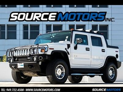 2005 Hummer H2 SUT 5 Hummer H2 SUT, Chrome Pkg, Brush Guard, Sunroof, 4x4, Running Boards