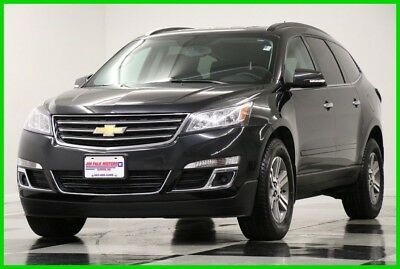 2015 Chevrolet Traverse LT AWD  Camera Black Granite Metallic SUV For Sale 2015 LT AWD  Camera Black Granite Metallic SUV For Sale Used 3.6L V6 24V AWD SUV