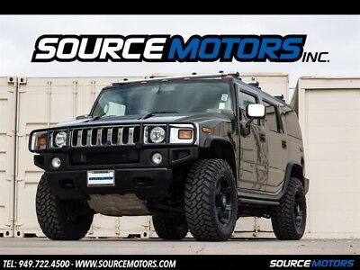 2003 Hummer H2 SUV 2003 Hummer H2, Sage Green Metallic, Leather, Black Wheels, Chrome Package