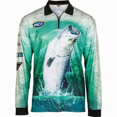 BCF Barra Sublimated Polo - Mens, Green, L