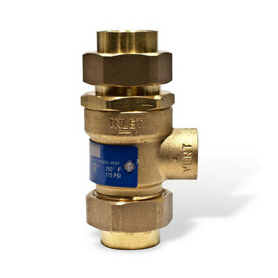 Watts 0063192 Backflow Preventer w/ Atmospheric Vent 3/4 BBFP
