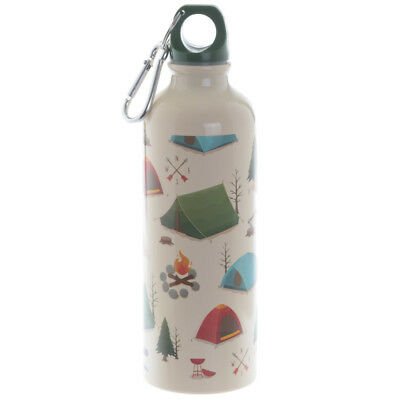 Handy 500ml Aluminium Water Bottles. Funky designs, CAMPING, SCOOTER etc. Gift.