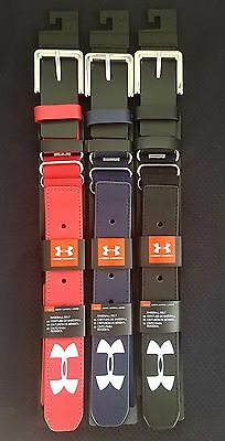 """Youth Under Armour Baseball Belts up to 41""""  Red,Blue and Black"""